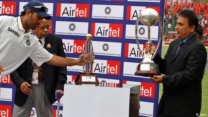 Ehemaliger Cricket Spieler Sunil Gavaskar, India (dapd)