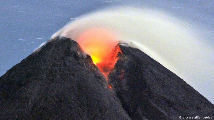 Vulkanausbruch (Foto: dpa)