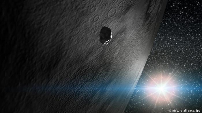 Planetenforscher entdecken Eis auf Asteroiden