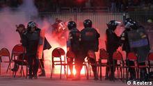 Ägypten Fußball Gewalt Port Said