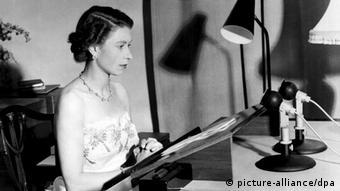 60jähriges Thronjubiläum Elizabeth II Königin Elizabeth II. - Weihnachtsansprache 1953