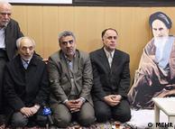 مراسم ورود آیتالله خمینی به مدرسه رفاه با حضور حمیدرضا حاجی بابایی وزیر آموزش و پرورش