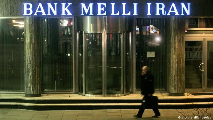 Melli bank branch in Hamburg (picture-alliance/dpa)