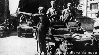Deutsche Soldaten in Rom 1943 (Foto: picture-alliance/akg-images)