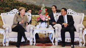 Deutschland Merkel Peking China Wu Bangguo