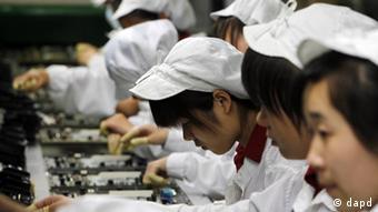 'Foxconn'-Mitarbeiter (Foto: dapd))