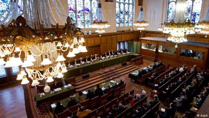 Der Internationale Gerichtshof in Den Haag (Foto:Peter Dejong/AP/dapd)