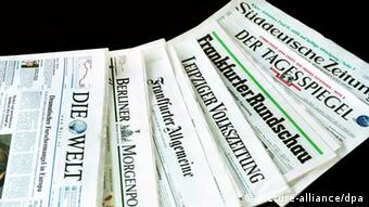 Symbolbild deutsche Presse Presseschau