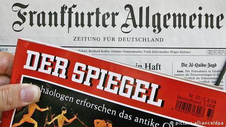 Symbolbild deutsche Presseschau Presse