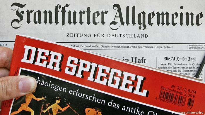 Symbolbild deutsche Presseschau Presse (picture-alliance/dpa)