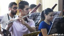 The National Youth Orchestra of Iraq in rehearsal