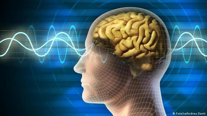 Imagen de una personas y el cerebro.