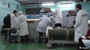 Material nuclear adecuado para producir armamento en Ucrania.
