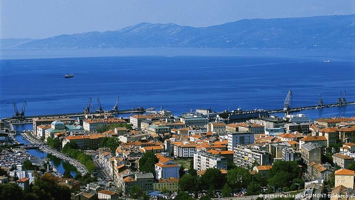Rijeka, pogled s Trsata