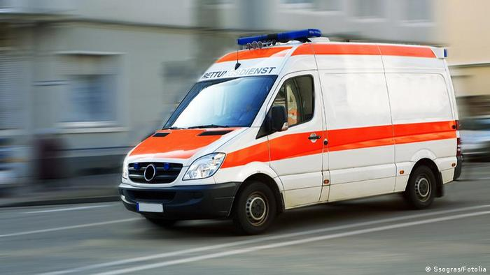 Symbolbild Rettungswagen
