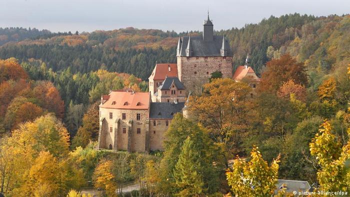 Замок Крибштайн - Burg Kriebstein