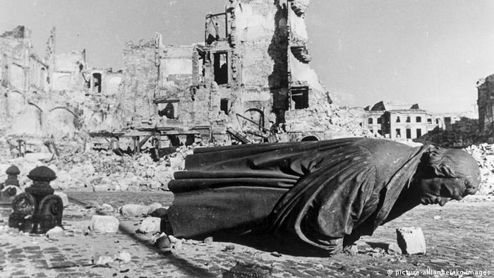 Drezden nakon bombardovanja saveznika