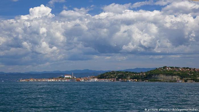 Pogled na Piranski zaljev