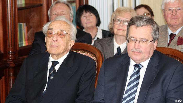 Bronislaw Komorowski i Aleksander Menhard
