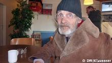 ###ACHTUNG Nur im Zusammenhang mit der Berichterstattung von Miriam Klaussner zum Thema obdachlose bonn 2012.#### Wolfgang, Obdachloser aus Bonn, 71 Jahre alt. Hiermit bin ich, Miriam Klaussner, einverstanden, dass diese von mir aufgenommenen Bilder auf den Seiten der DW veröffentlicht werden - im Zusammenhang mit der BErichterstattung von mir zum Thema obdachlose bonn 2012.