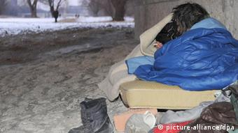 Winter Obdachlose