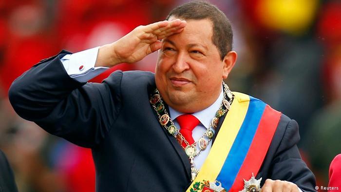 Venezuela Präsident Hugo Chavez (Reuters)