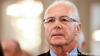 Franz Beckenbauer, Foto: Sven Hoppe dpa/lby +++(c) dpa - Bildfunk+++