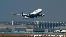 Lufthansa Flugzeug (picture-alliance/Arco Images G)