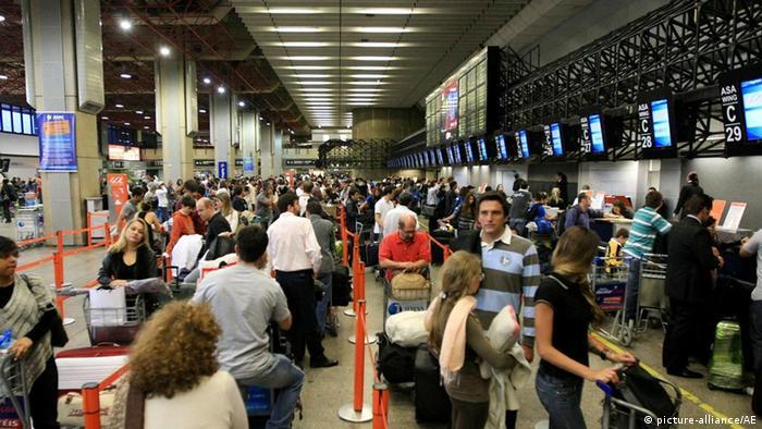 Aeroporto Internacional de Guarulhos, o maior do país