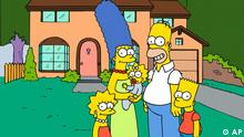 FILE - This undated frame from the Fox series The Simpsons, shows the popular cartoon family posing in front of their home, from left, Lisa , Marge , Maggie, Homer and Bart Simpson. The Vatican newspaper has declared that Homer Simpson is part of the pope's flock.Few people know it and he does everything to hide it but it is true: Homer J. Simpson is Catholic, L'Osservatore Romano wrote in its weekend edition of Oct. 16-17 2010 under the headline: Homer and Bart are Catholic. (AP Photo/Fox Broacasting Co.) NO SALES AP PROVIDES ACCESS TO THIS PUBLICLY DISTRIBUTED HANDOUT PHOTO TO BE USED ONLY TO ILLUSTRATE NEWS REPORTING OR COMMENTARY ON THE FACTS OR EVENTS DEPICTED IN THIS IMAGE.