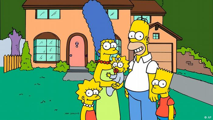 The Simpsons family, Copyright: AP Photo/Fox Broacasting Co.