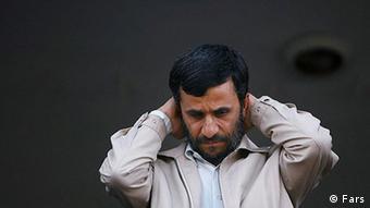 Präsident Ahmadinedschad spürt Gegenwind (Foto: Fars)