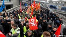 Frankreich Streik im französischen Luftverkehr