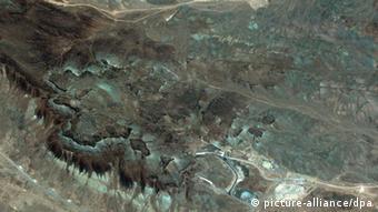 An aerial shot of Iran nuclear facility at Qom