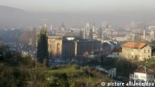Blick auf Sarajevo, Hauptstadt von Bosnien-Herzegowina