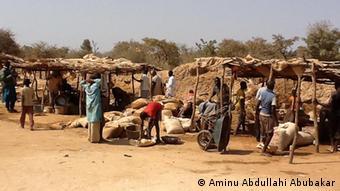 Illegale Bergbau Aktivitäten in Bagega Zamfara Nigeria