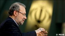 Der iranische Parlamentspräsident Ali Larijani. Copyright: MEHR