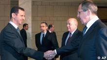 سرگئی لاوروف، وزیر خارجه روسیه، سهشنبه وارد دمشق شد