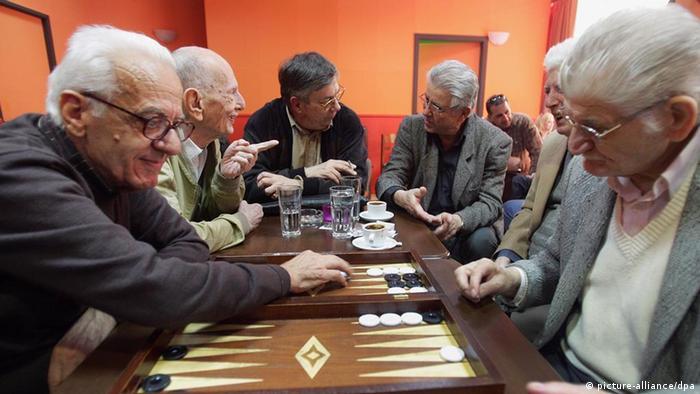Greek pensioners