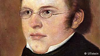 Franz Schubert, a portrait by H. Torggler