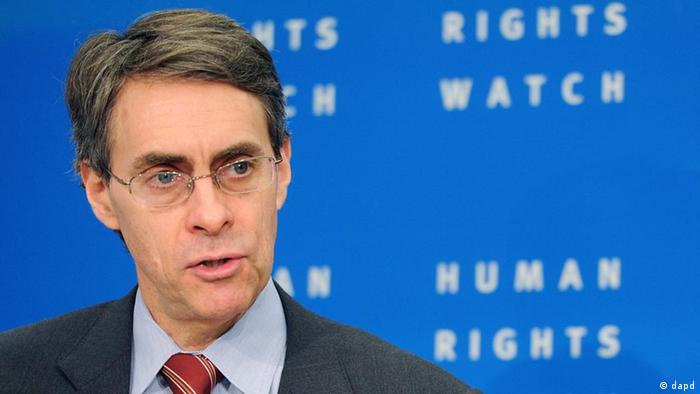 Der Chef von Human Rights Watch, Kenneth Roth (Foto: AP)