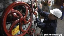 Ukraine Gaslieferung nach Europa