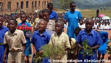 Schüler der Schule Rulindo, Ruanda
