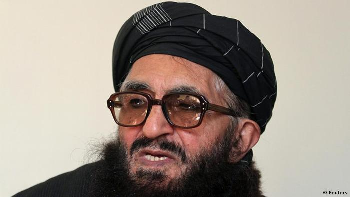 Former Taliban minister Maulvi Arsala Rahmani, a member of the High Peace Council set up by President Hamid Karzai two years ago to liaise with insurgents, speaks during an interview in Kabul January 26, 2012. Senior Afghan peace negotiators believe the Taliban are willing to significantly soften past hardline ideologies, with its leaders already laying the ground for possible peace talks in the Gulf state of Qatar. Picture taken January 26, 2012. To match Interview AFGHANISTAN-TALKS/ REUTERS/Mohammad Ismail (AFGHANISTAN - Tags: POLITICS CIVIL UNREST)