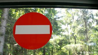 Schild Durchfahrt verboten