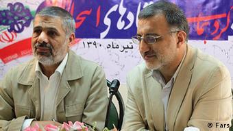 علیرضا ذاکانی و حسین فدایی از جبهه متحد اصولگرایان