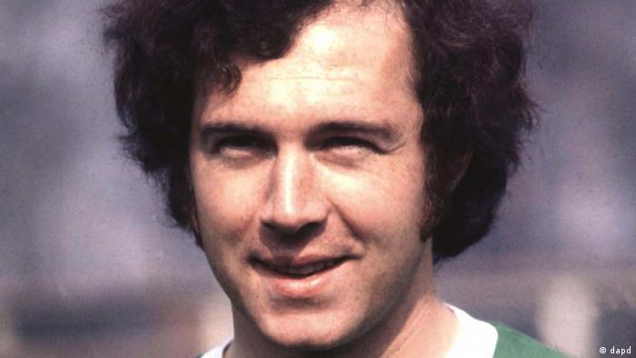 Franz Beckenbauer (Foto aus dem Jahre 1974)