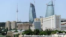 ساختمانها مدرن در باکو، چهره این شهر قدیمی را تغییر دادهاند