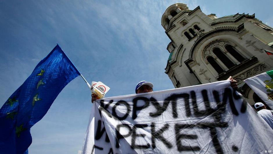 Bulgarien Proteste gegen Korruption