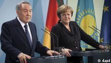 Нурсултан Назарбаев и Ангела Меркель